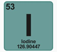 Element I Iodine by SignShop