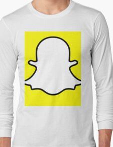 snapchat Long Sleeve T-Shirt