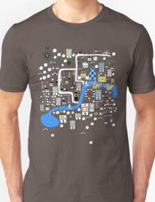 Cartoon Map of London T-Shirt