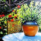 "De mon jardin by Belinda ""BillyLee"" NYE (Printmaker)"