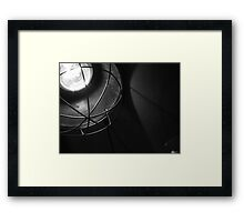Raw electric light Framed Print