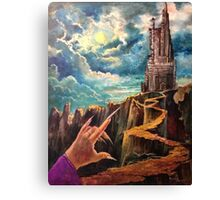 Almost Home Points the Vampire Canvas Print