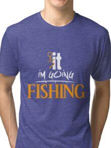 F it Fishing Tri-blend T-Shirt