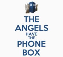 The Angels Have The Phone Box (Color Version) by Phaedrart