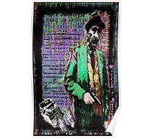 William.S.Burroughs. Poster
