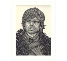 The Half Man Art Print