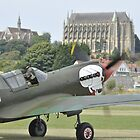 P-40M Kittyhawk G-KITT  by palmerphoto
