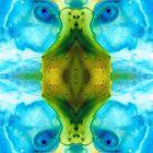 Abundant Life - Pattern Art by Sharon Cummings by Sharon Cummings