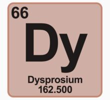 Element Dy Dysprosium by SignShop