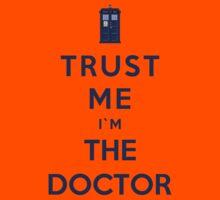 Trust Me I'm The Doctor (Colour Version) Kids Clothes