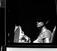 Behind the window ... by Berns