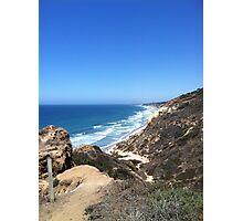 Beautiful and Sunny San Diego Beach Photographic Print