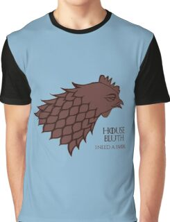 """HOUSE BLUTH - """"I need a favor"""" Graphic T-Shirt"""
