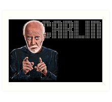George Carlin - Comic Timing Art Print