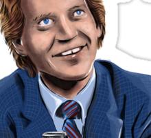David Letterman - Comic Timing Sticker