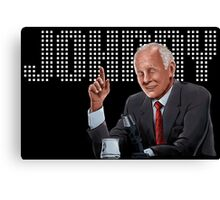 Johnny Carson - Comic Timing Canvas Print