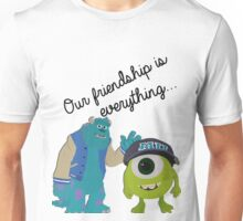 Mike and Sulley - Bestfriends Unisex T-Shirt