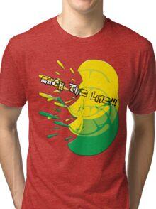 suck the lime Tri-blend T-Shirt