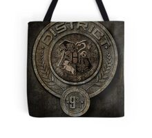 The Hunger Games and Hogwarts clash Tote Bag