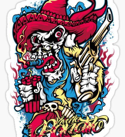 Viva La Bandito Baby Sticker