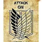 Attack on Titan: Scouting Legion Jiyu no Tsubasa by Ruo7in