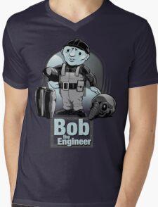 Bob the Engineer Mens V-Neck T-Shirt