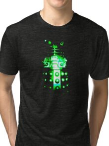 Dalek Alpha – Green Tri-blend T-Shirt
