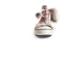 Walking barefoot into the big bad world.... by Bob Daalder