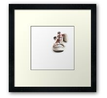 Walking barefoot into the big bad world.... Framed Print