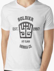 Shinra SOLDIER Final Fantasy VII Mens V-Neck T-Shirt