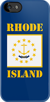 Smartphone Case - State Flag of Rhode Island VIII by Mark Podger