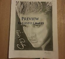 Elvis Presley - Hand drawn by MDucrow
