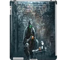 Paintings gas masks iPad Case/Skin