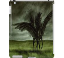 Black Horse iPad Case/Skin