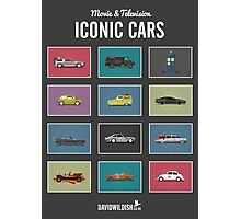 Iconic Cars - Collection Photographic Print