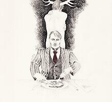 Dinner Time by Boris Edery-Mordekovich
