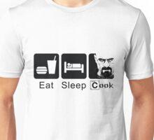 "Breaking Bad ""Eat. Sleep. Cook."" Unisex T-Shirt"
