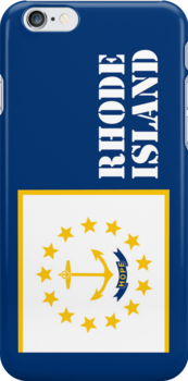 Smartphone Case - State Flag of Rhode Island XI by Mark Podger