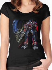 Optimus Prime Women's Fitted Scoop T-Shirt