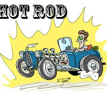 Collour hot-rod on wheels! (1) by RFlores