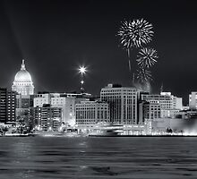 Madison New Years Eve by Steven Ralser