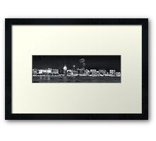 Madison New Years Eve Framed Print