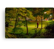 down-and-out Canvas Print