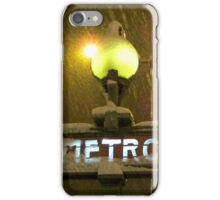 Right now it's snowing over Paris! iPhone Case/Skin