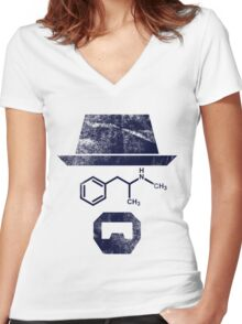 The Chemist - Breaking Bad Women's Fitted V-Neck T-Shirt