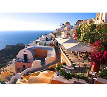 A View of Oia Photographic Print