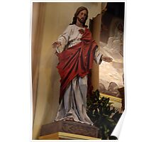 Sacred Heart of Jesus - St. Mary's Historical Church Poster