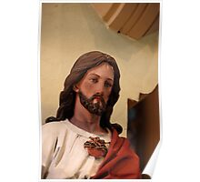 Jesus The Christ - St. Mary's Historical Church Poster