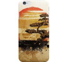 A relaxing Japanese garden iPhone Case/Skin