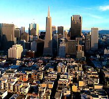 San Fran City by TinyDino